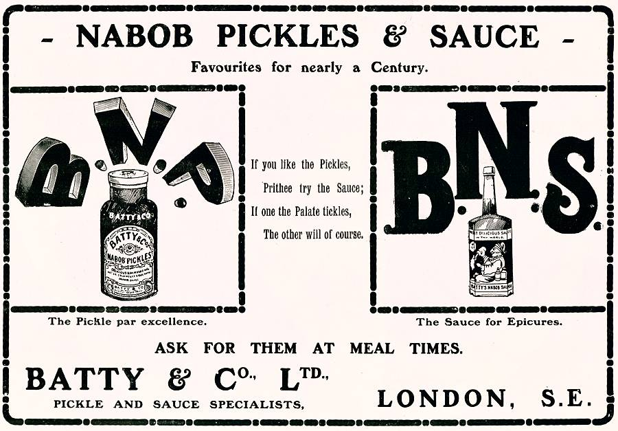 Nabob Pickles & Sauce