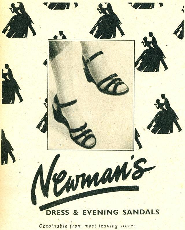 Newman's Dress & Evening Sandals