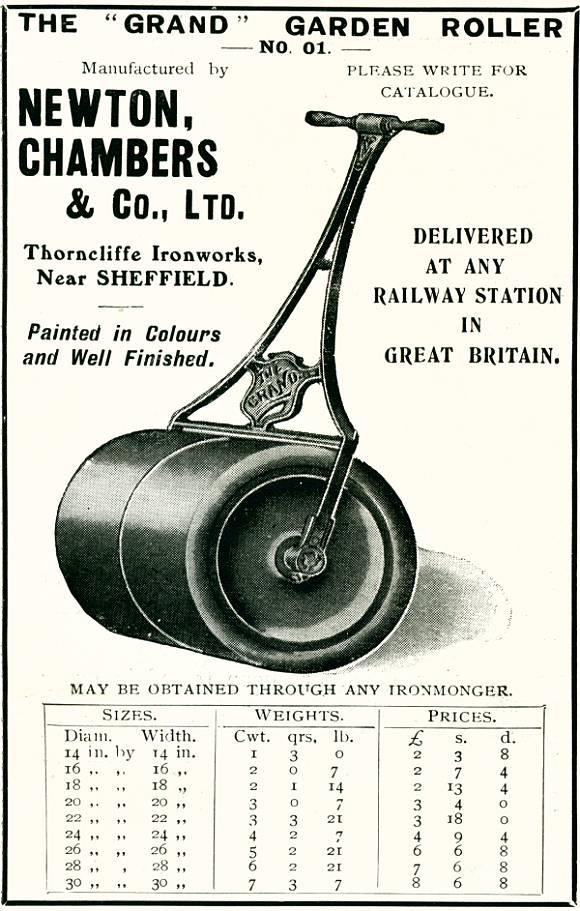 The 'Grand' Garden Roller