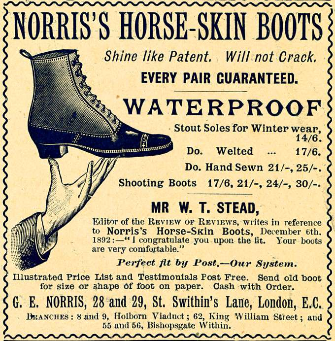 Norris's Horse-Skin Boots
