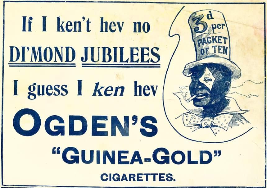 Ogden's 'Guinea-Gold' Cigarettes