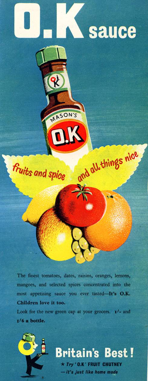 O.K Sauce