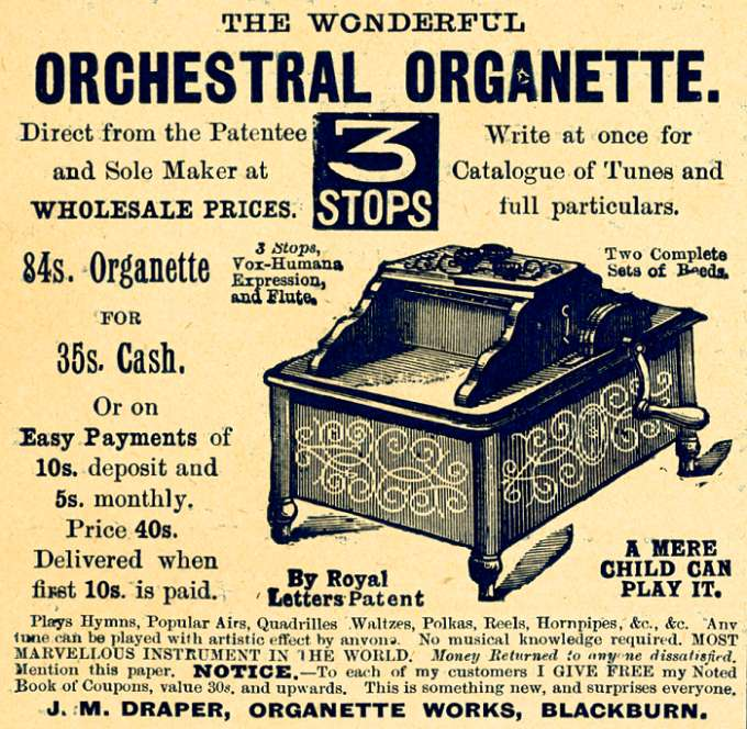 Orchestral Organette