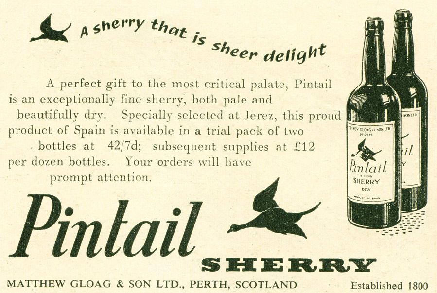 Pintail Sherry