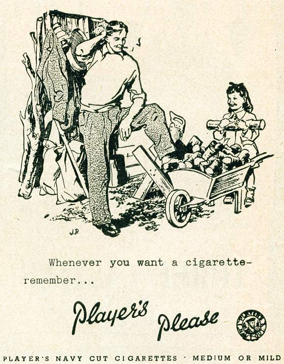 Player's Navy Cut Cigarettes