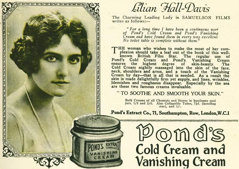 Pond's Cold Cream and Vanishing Cream