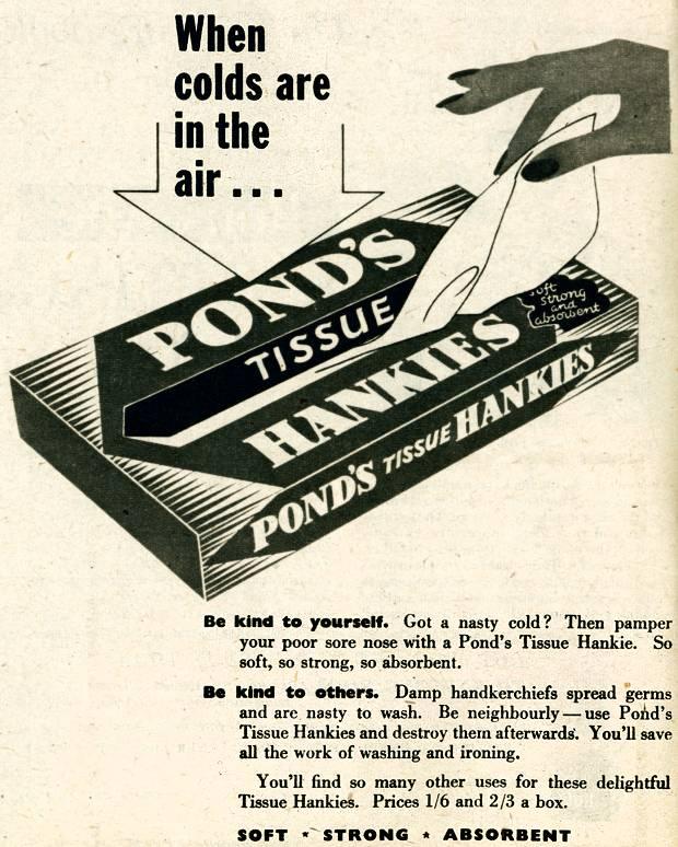 Pond's Tissues