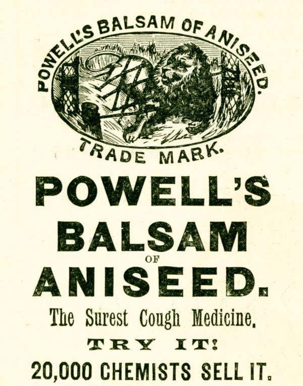 Powells Balsam of Aniseed