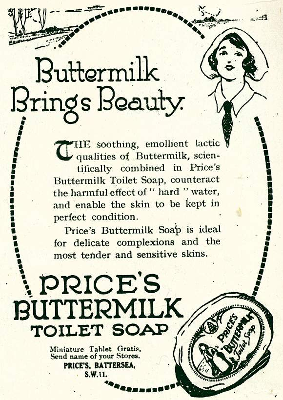 Price's Buttermilk Toilet Soap