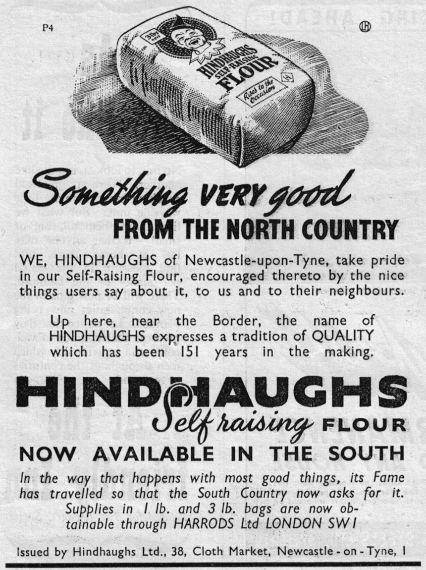 Hindhaughs Flour