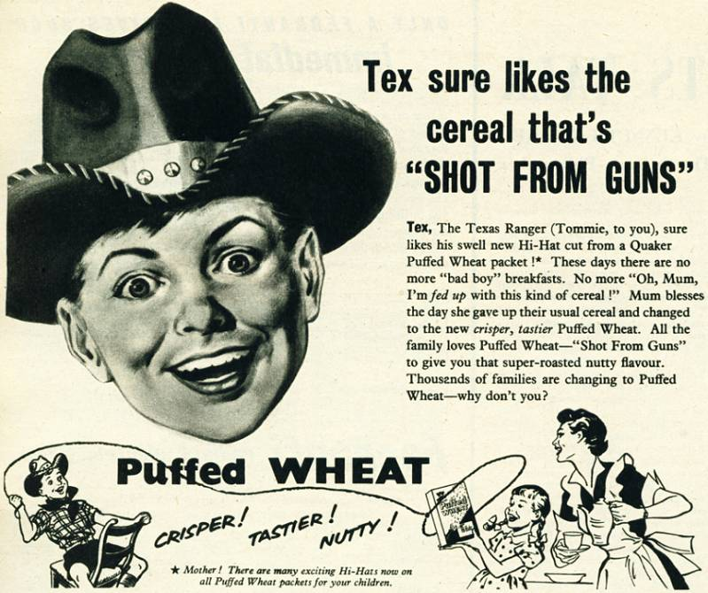 Quaker Puffed Wheat