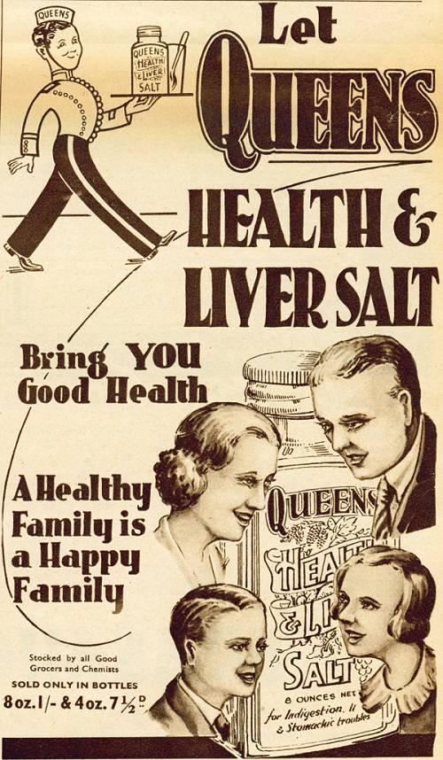 Queens Health & Liver Salt