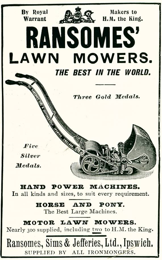 Ransomes' Lawn Mowers