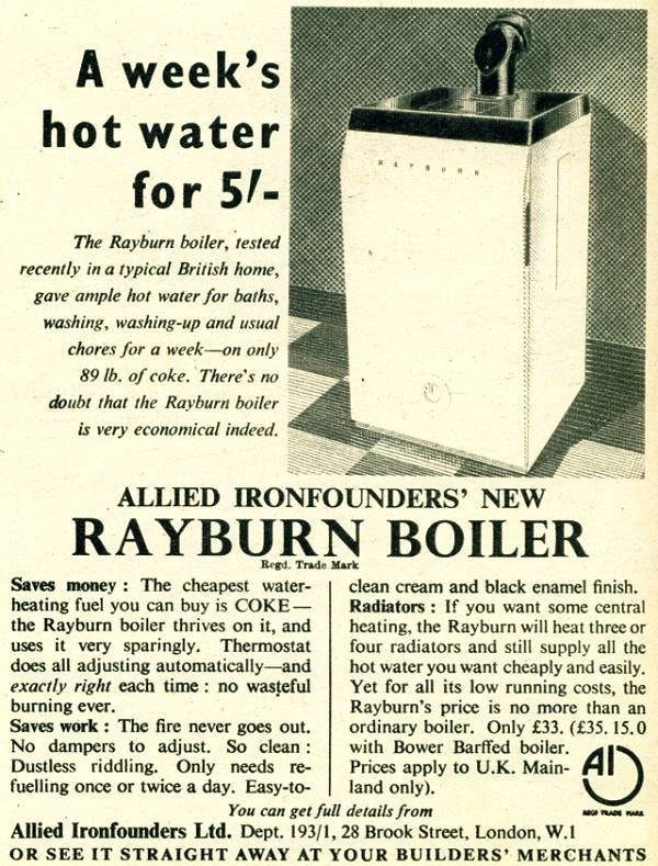 Rayburn Boiler