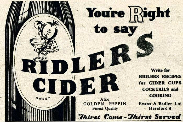 Ridlers Cider