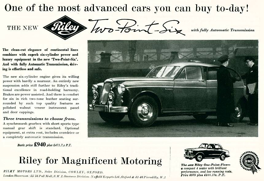 Riley Motors Ltd.