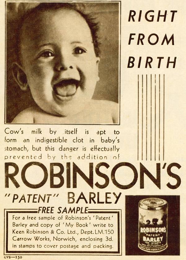 Robinson's 'Patent' Barley