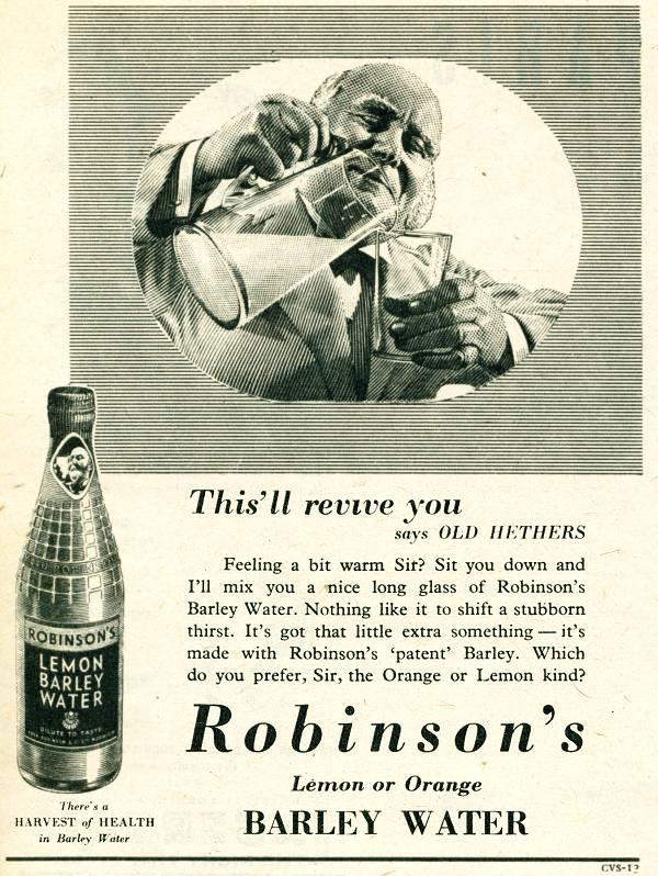 Robinson's Barley Water