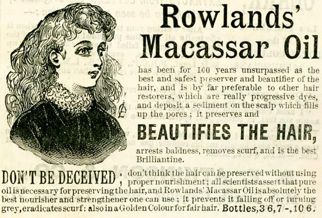 Rowlands' Macassar Oil