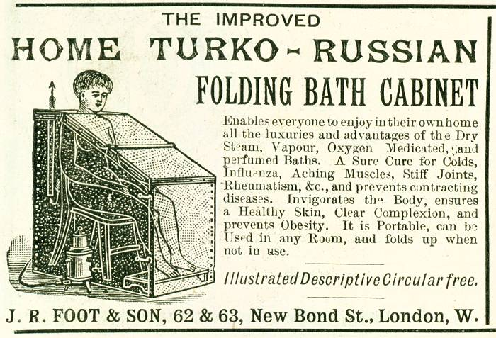 Home Turko-Russian Folding Bath Cabinet
