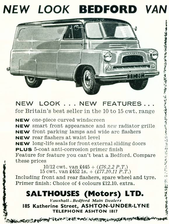 Salthouses (Motors) Ltd.