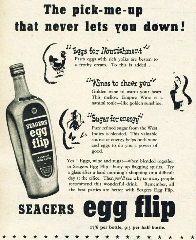 Seagers Egg Flip