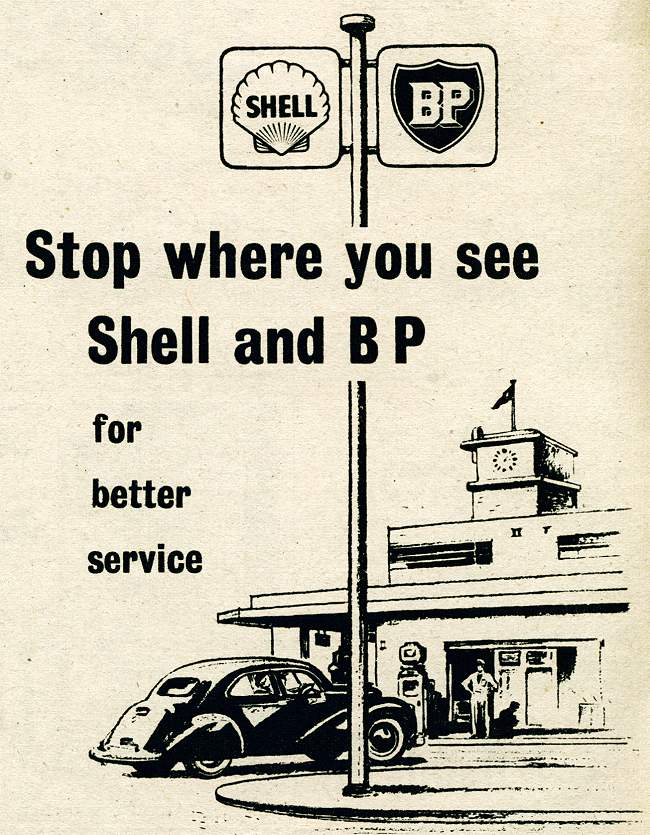Shell and BP