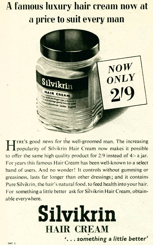 Silvikrin Hair Cream