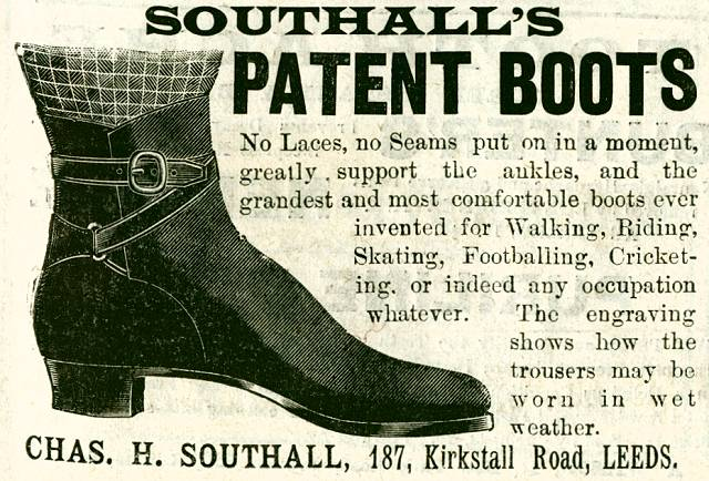 Southall's Patent Boots