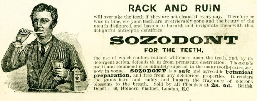 Sozodont for the Teeth