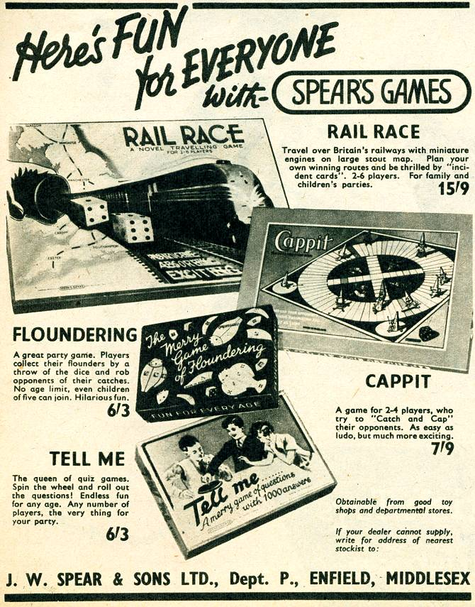 Spear's Games