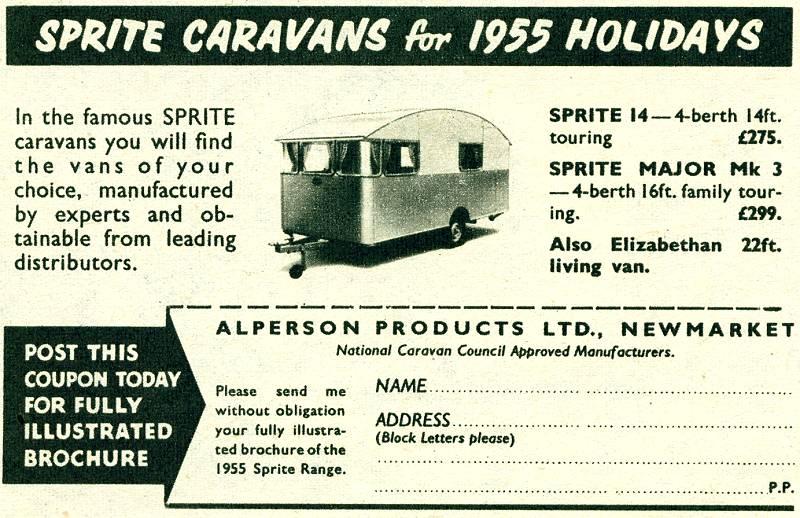 Sprite Caravans