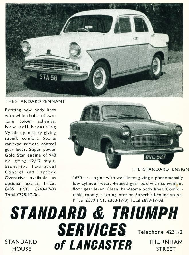 Standard & Triumph Services of Lancaster