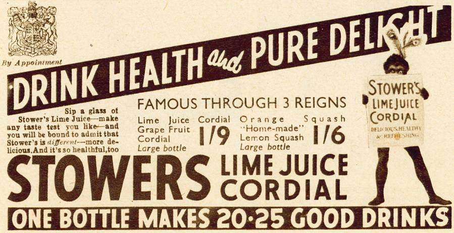 Stowers Lime Juice Cordial