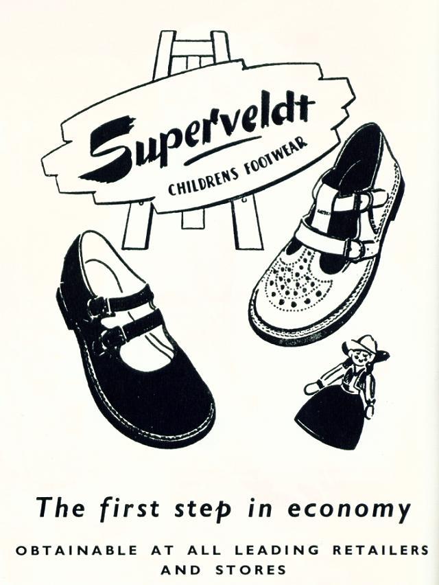 Superveldt Chrildrens Footwear