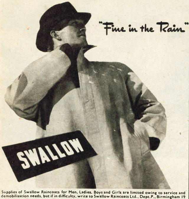 Swallow Raincoats
