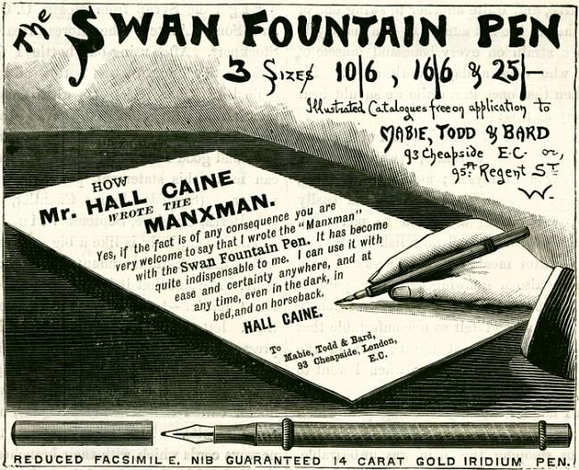 Swan Fountain Pen