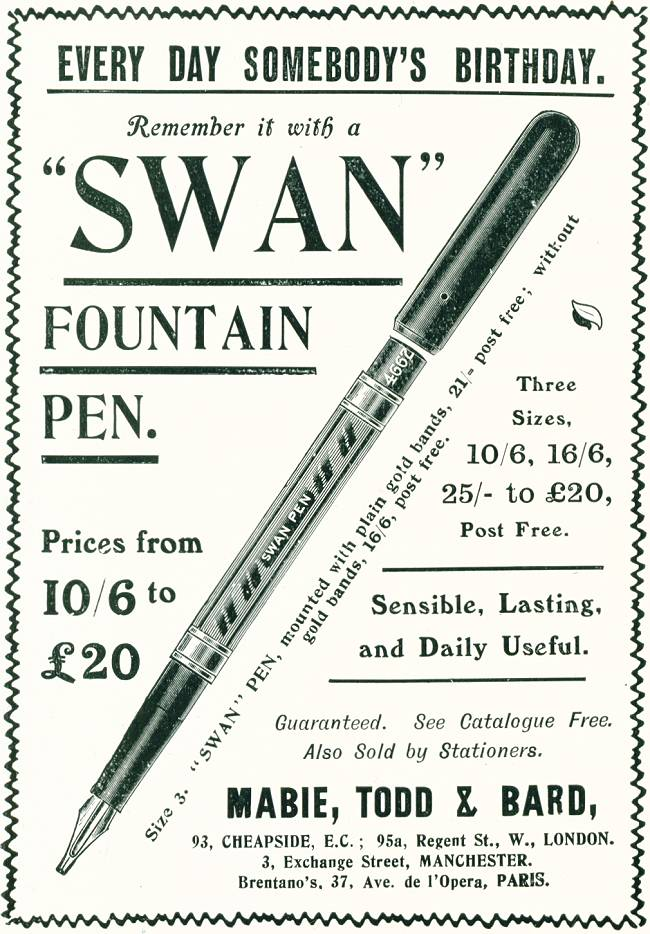 Swan Fountain Pen