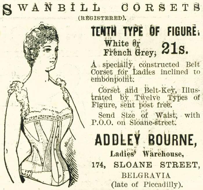 Swanbill Corsets