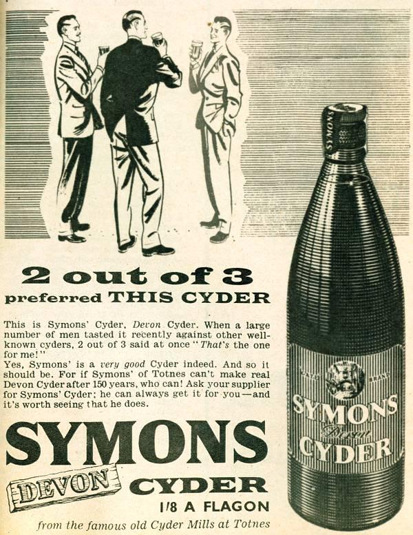 Symons Devon Cyder