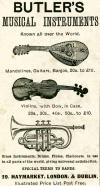 Butler's Musical Instruments