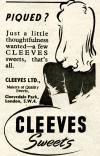 Cleeves Sweets