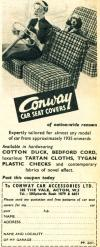 Conway Car Seat Covers