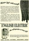 English Electric Refrigerator
