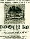 Incandescent Fire-Mantel
