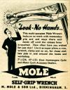 Mole Self Grip Wrench
