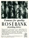 Rosebank Furnishing Fabrics