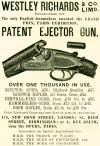 Westley Richards & Co. Ltd Patent Ejector Gun