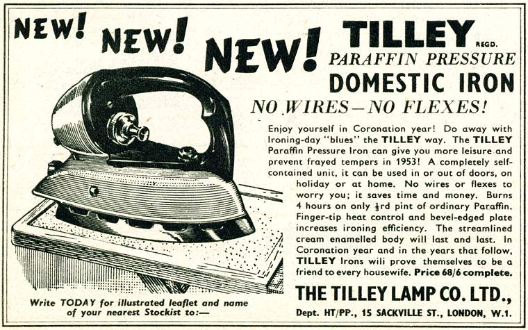 Tilley Iron