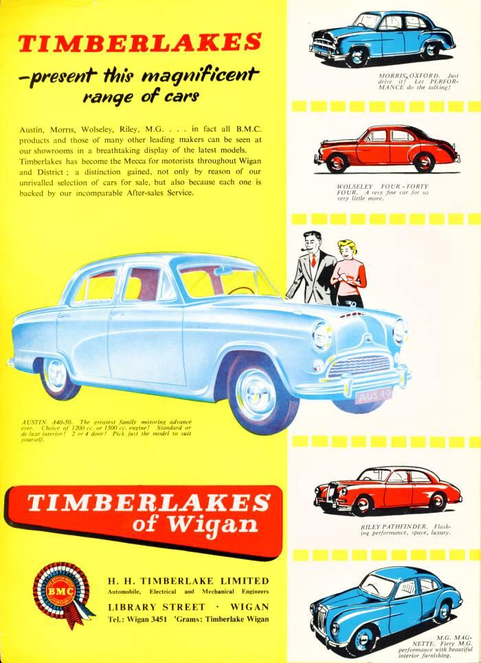 Timberlakes of Wigan